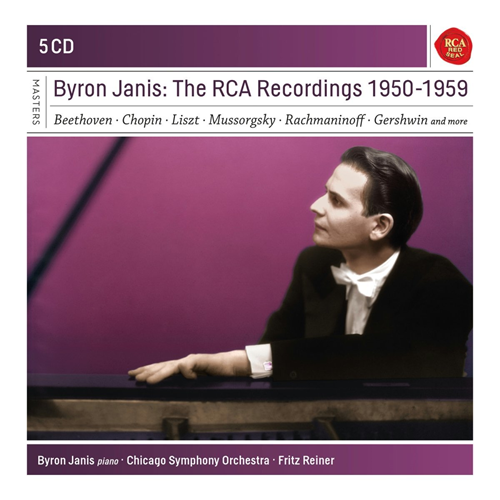 Byron Janis - The Rca Recordings 1950-1959 (5CD)