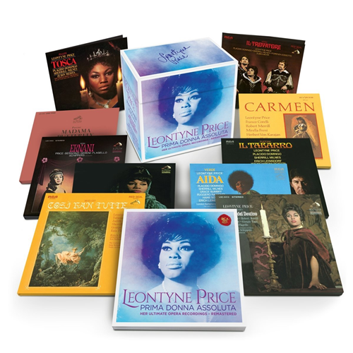 Leontyne Price - Prima Donna Assoluta - Her Ultimate Opera Recordings - Remastered (22CD)