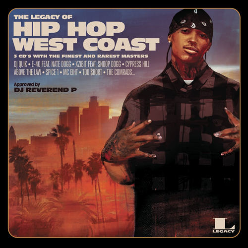 The Legacy Of Hip Hop West Coast (3CD)
