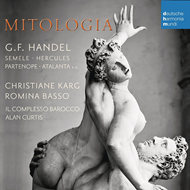 Produktbilde for Mitologia - Handel: Arias & Duets (CD)