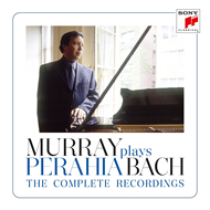Produktbilde for Murray Perahia Plays Bach - The Complete Recordings (8CD)
