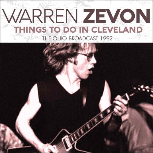 Things To Do In Cleveland - The Ohio Broadcast 1992 (CD)