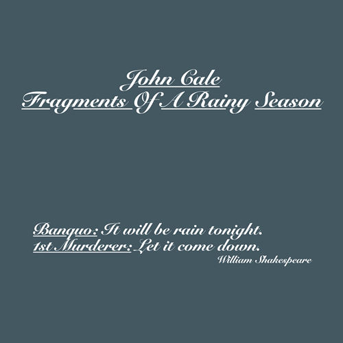 John Cale Guts
