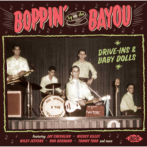 Boppin' By The Bayou - Drive-Ins & Baby Dolls (CD)