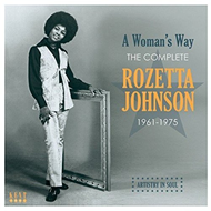 Produktbilde for A Woman's Way - The Complete Rozetta Johnson 1961-1975 (CD)