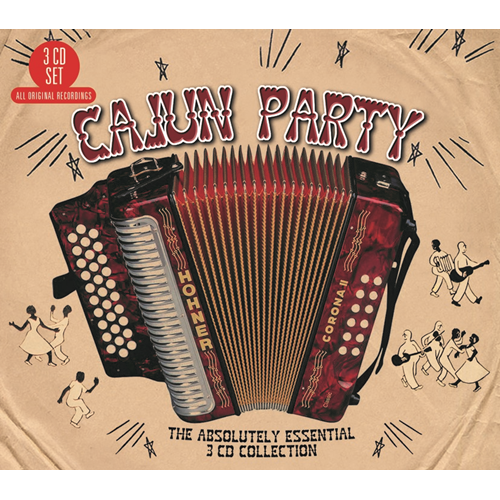 Cajun Party - The Absolutely Essential Collection (3CD)