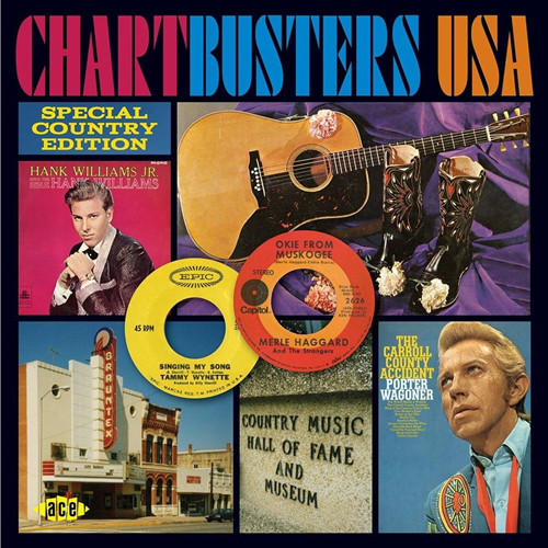 Chartbusters USA - Special Country Edition (CD)