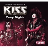 Crazy Nights - Legendary Radio Broadcasts (4CD)