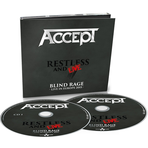 Restless And Live: Blind Rage - Live In Europe 2015 (2CD)