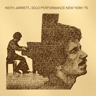 Solo Performance New York '75 (CD)