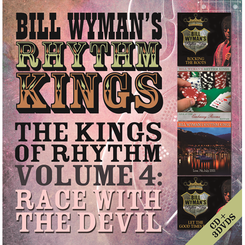 The Kings Of Rhythm Vol. 4: Race With The Devil - Deluxe Edition (CD + 3DVD)
