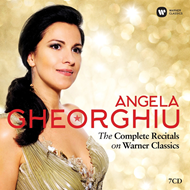 Produktbilde for Angela Gheorghiu - The Complete Recitals On Warner Classics (7CD)