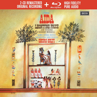 Produktbilde for Verdi: Aida (USA-import) (2CD + Blu-ray A)