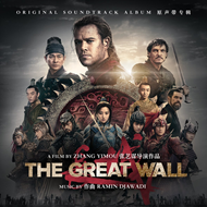 Produktbilde for The Great Wall - Original Motion Picture Soundtrack (CD)