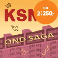 Produktbilde for Ond Saga (CD)