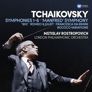Produktbilde for Tchaikovsky: Symphonies 1-6 (6CD)