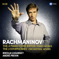 Produktbilde for Rachmaninov: The Piano Concertos, The Symphonies (8CD)