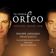 Produktbilde for La Storia Di Orfeo (CD)