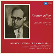 Mstislav Rostropovich - Brahms: Cello Sonata No. 2 (CD)
