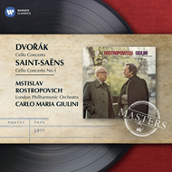 Produktbilde for Dvorak & Saint-Saëns: Cello Concertos (CD)