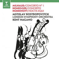 Milhaud: Cello Concerto No. 1; Honegger: Cello Concerto; Hoddinott (CD)