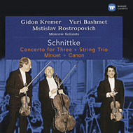 Produktbilde for Schnittke: Concerto For Three, String Trio, Minuet (CD)