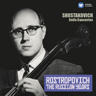 Shostakovich: Cello Concertos Nos. 1 & 2 (The Russian Years) (CD)