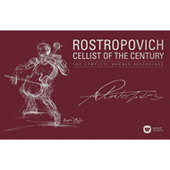 Mstislav Rostropovich - The Cellist Of The Century: The Complete Warner Recordings (43CD)