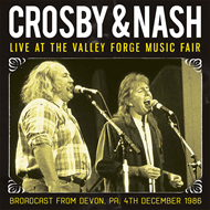 Live At The Valley Forge Music Fair - Broadcast From Devon, Pa. 4th December 1986 (CD)