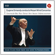 Eugene Ormandy Conducts Mozart Wind Concertos (3CD)