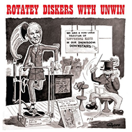 Rotatey Diskers With Unwin (CD)