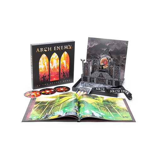 As The Stages Burn! - Limited Deluxe Box Set (CD + DVD + Blu-ray)