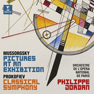 Mussorgsky: Pictures At An Exhibition, Prokofiev: Symphony No. 1 (CD)