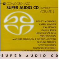 Produktbilde for Concord Jazz Super Audio CD Sampler 2 (SACD)