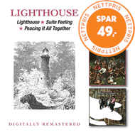 Produktbilde for Lighthouse/Suite Feeling/Peacing It All Together (2CD)