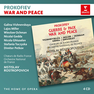 Prokofiev: War And Peace (4CD)