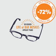 Produktbilde for Live At Bar Moskus (CD)