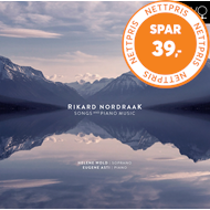 Produktbilde for Nordraak: Songs And Piano Music (CD)