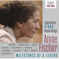 Produktbilde for Annie Fischer - Milestones Of A Piano Legend (10CD)