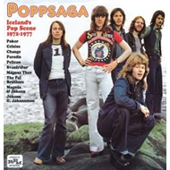 Poppsaga: Iceland's Pop Scene 1972-1977 (CD)