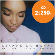 Produktbilde for Is Your Love Big Enough? (CD)