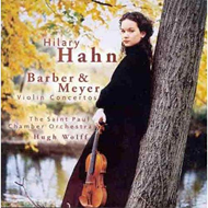 Meyer/Barber:Violin Concertos (CD)