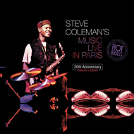 Steve Coleman's Music Live In Paris : 20th Anniversary Collector's Edition (4CD)
