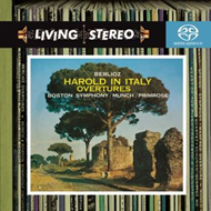 Berlioz: Harold In Italy Overtures (SACD-Hybrid)