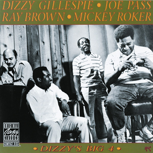 Dizzy's Big Four (CD)