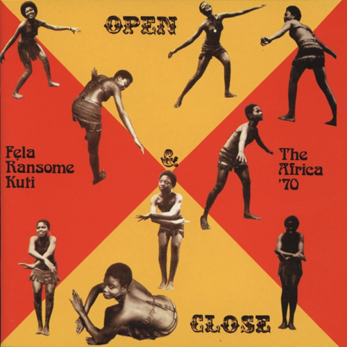 Open & Close / Afrodisiac (CD)