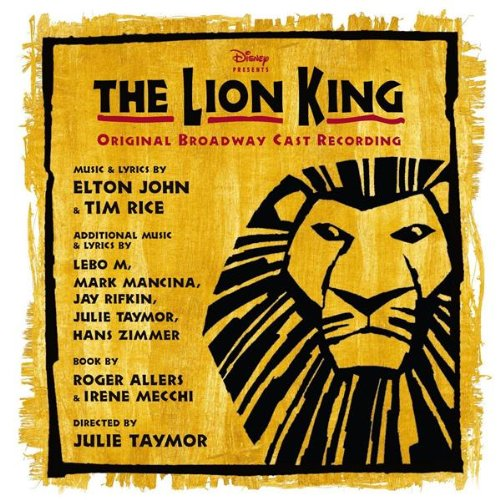 The Lion King - Broadway Musical: Uk Edition (CD)