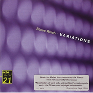 Reich: Variations (CD)