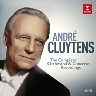 André Cluytens: The Complete Orchestral & Concerto Recordings (65CD)
