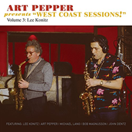 "Art Pepper Presents ""West Coast Sessions!"" Volume 3: Lee Konitz (CD)"
